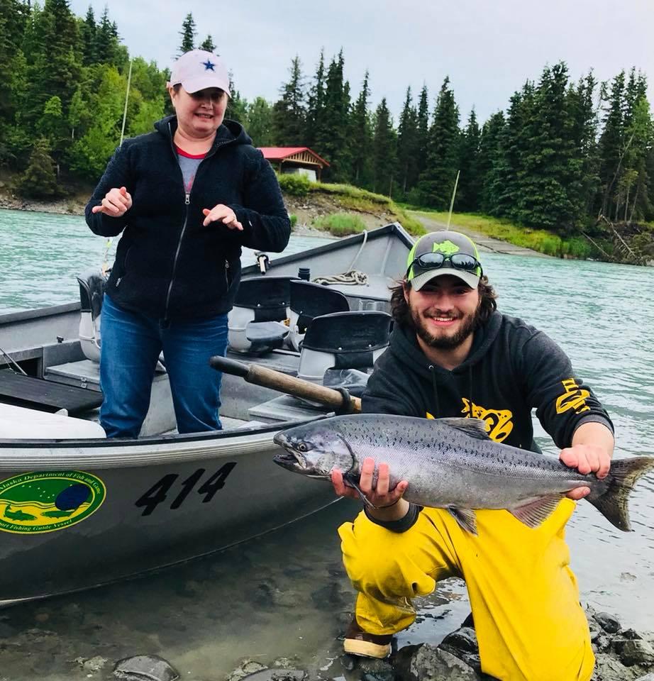 Salmon Run Alaska